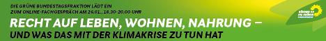 Banner B90/Die Grünen